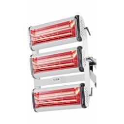 Lámpara de secado triple IR