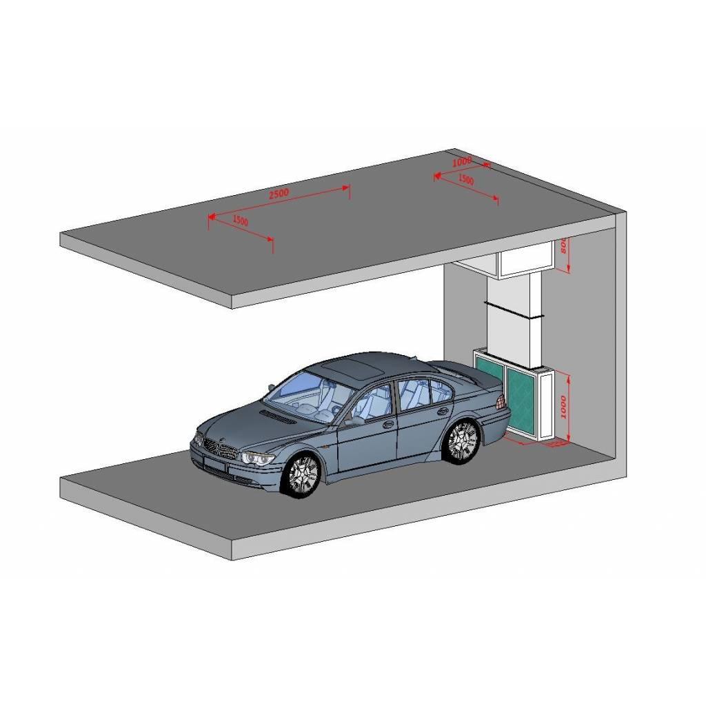 Sistema de reciclado de aire sin salida al exterior.