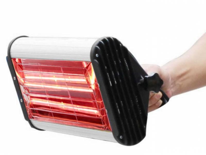 Lámpara de secado portátil